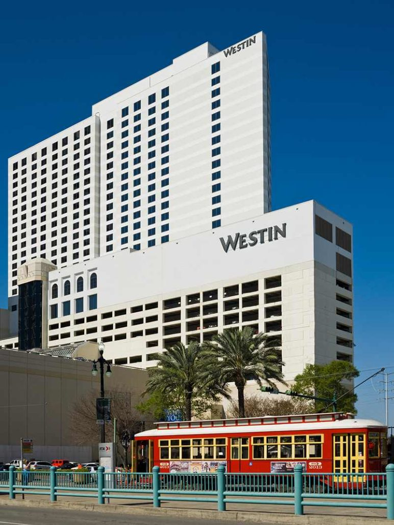 The Westin Hotel Exterior