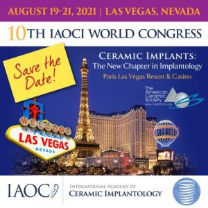 10TH IAOCI WORLD CONGRESS